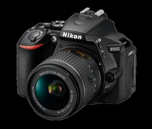 Und noch ein Superpreis: Nikon D5600